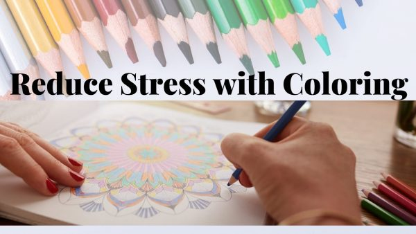 Reduce Stress with Coloring, Coloring Books