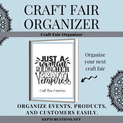 Craft Fair Organizer Mockup